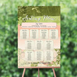 Wild Garden Wedding Seating Plan additional 1