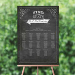 Chalkboard Wedding Seating Plan additional 1