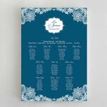 Romantic Lace Wedding Seating Plan additional 12