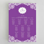 Romantic Lace Wedding Seating Plan additional 9