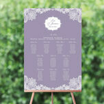 Romantic Lace Wedding Seating Plan additional 1