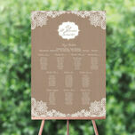 Rustic Lace Wedding Seating Plan additional 1