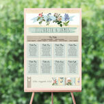 Rustic Botanical Wedding Seating Plan additional 1