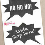 Christmas Holiday Chalkboard Speech Bubble Slogans - Printable Photo Booth Props additional 4