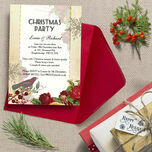 Personalised 'Winter Wonderland' Christmas Party Invitations - Printed or Printable additional 1