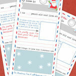 Printable Christmas Letter to Santa additional 2