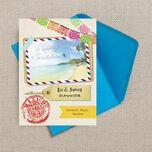 Mexico Beach Postcard Wedding Invitation additional 2