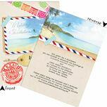 Mexico Beach Postcard Wedding Invitation additional 5