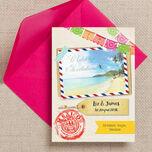 Mexico Beach Postcard Wedding Invitation additional 1