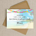 Mexico Beach Postcard Save the Date additional 3