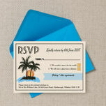 Retro Palm Trees RSVP additional 3