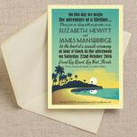 Tropical Beach Sunset Wedding Invitation additional 1