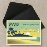 Tropical Beach Sunset RSVP additional 3