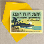 Tropical Beach Sunset Save the Date additional 4
