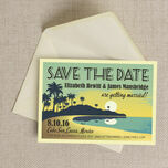 Tropical Beach Sunset Save the Date additional 5