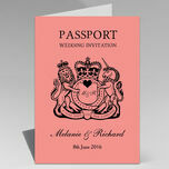 Passport Travel Themed Wedding Invitation additional 19