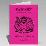 Passport Travel Themed Wedding Invitation additional 25