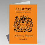 Passport Travel Themed Wedding Invitation additional 22