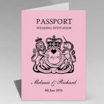 Passport Travel Themed Wedding Invitation additional 16