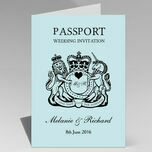 Passport Travel Themed Wedding Invitation additional 7