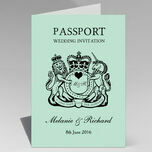 Passport Travel Themed Wedding Invitation additional 10