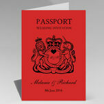 Passport Travel Themed Wedding Invitation additional 28