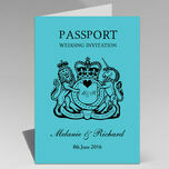 Passport Travel Themed Wedding Invitation additional 31