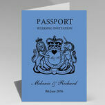 Passport Travel Themed Wedding Invitation additional 34