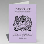 Passport Travel Themed Wedding Invitation additional 13