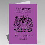 Passport Travel Themed Wedding Invitation additional 37