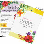 Tropical Flamingo Wedding Invitation additional 3