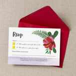 Tropical Hibiscus RSVP additional 3