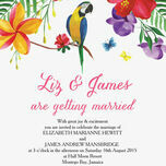 Tropical Paradise Wedding Invitation additional 3