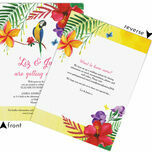 Tropical Paradise Wedding Invitation additional 2