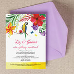 Tropical Paradise Wedding Invitation additional 1