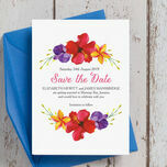 Tropical Paradise Save the Date additional 3