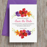 Tropical Paradise Save the Date additional 1