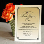 Gold Art Deco New Years Eve Party Invitation additional 4