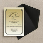 Gold Art Deco New Years Eve Party Invitation additional 3