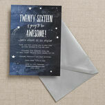 Shooting Star New Years Eve Party invitation additional 2