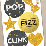 New Year's Eve Printable DIY Photo Booth Props additional 3