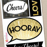 New Year's Eve Printable DIY Photo Booth Props additional 5