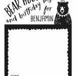 Grizzly Bear Birthday Wish Cards additional 1