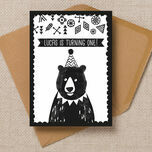 Grizzly Bear Party Invitation additional 1