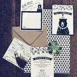Grizzly Bear Party Invitation additional 6