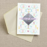 Pastel Geometric Wedding Invitation additional 6