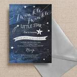 Twinkle Twinkle Little Star Party Invitation additional 1