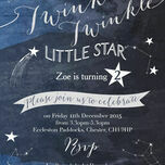 Twinkle Twinkle Little Star Party Invitation additional 2