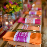 Mexican Inspired Papel Picado Napkin Wraps - Set of 2 additional 2