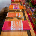 Mexican Inspired Papel Picado Napkin Wraps - Set of 2 additional 3